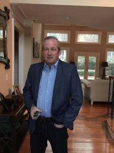Jeff McCann, founder of Jay Christopher's Restaurants at his residence.