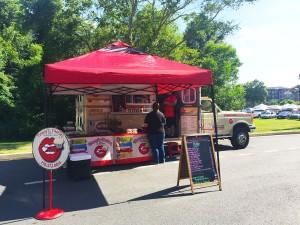 Tracy's Tasties food truck. Photo by Kimi Frazier