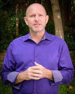 Jamie Turner outside his office in Atlanta, Georgia.