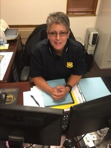 Trudi Vaughn, Major at KSU Police Department